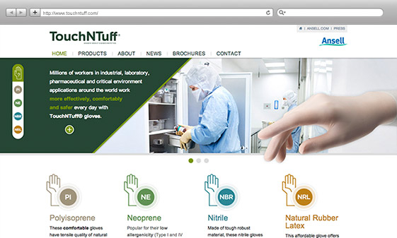 job_Ansell - TouchNTuff ®_firstlook