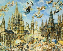 Jaap Oudes � Bird Market in Brussels � Pictoright Amsterdam