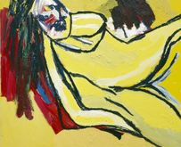 Karel Appel � Yellow Nude 2000 � Karel Appel Foundation c/o Pictoright Amsterdam
