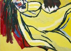Karel Appel – Yellow Nude 2000 © Karel Appel Foundation c/o Pictoright Amsterdam